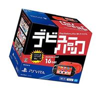PlayStation Vita debut pack Wi-Fi model Red / Black