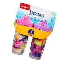 Playtex Playtime Insulator Straw Cup, 9 oz, 2 ct