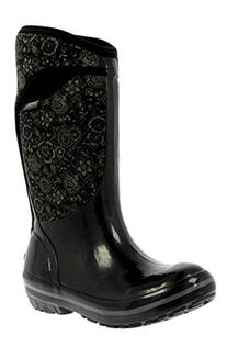 Bogs Women's Plimsoll Quilted Floral Tall Waterproof