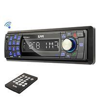 Pyle PLMR17BTB Bluetooth Stereo Radio Headunit Receiver,