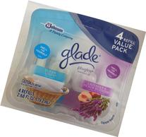 Glade Plugins Scented Oil Refill, Clean Linen/Lavender/Peach