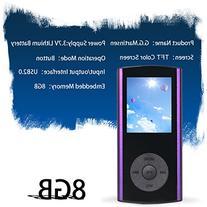 G.G.Martinsen Plum Button 1.78 LCD Screen 8GB MP3/MP4