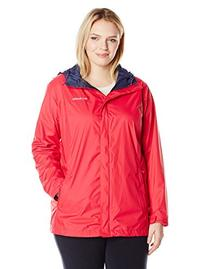 Columbia Women's Plus-Size Arcadia II Jacket, Ruby Red, 1X