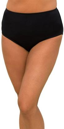 swimsuitsforall Women's Brief 16 Black