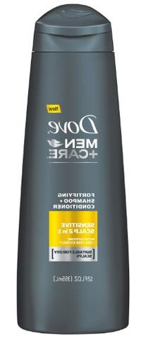 Dove Men+Care Fortifying 2 in 1 Shampoo + Conditioner,