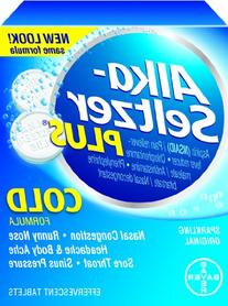 Alka-Seltzer Plus Cold Medicine, 36 Count