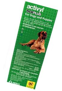 Activyl Plus  Flea Treatment for Dogs & Puppies 88lbs and