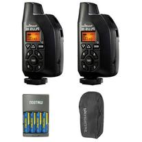 PocketWizard 801-130 Plus III Transceiver 2 Pack With Case
