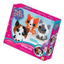 Plush Craft Fabric Fun Kit Kitten Club 3/Pkg-Kittens