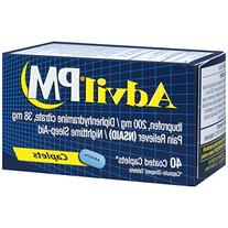 Advil PM Pain Reliever/Nighttime Sleep Aid, Ibuprofen and