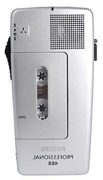 Pocket Memo 488 Slide Switch Mini Cassette Dictation