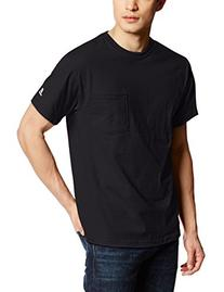 Russell Athletic Men's Pocket Tee, Black, XX-Large