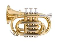 Jean Baptiste Pocket Trumpet - Gold Lacquer