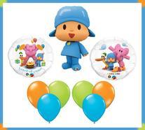 Pocoyo & Friends Happy Birthday Party Balloon Set Bouquet