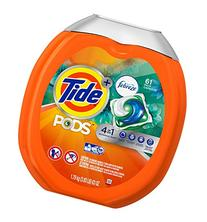 Tide PODS 4 in 1 HE Turbo Laundry Detergent Pacs, Botanical