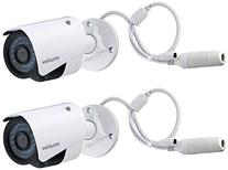 LaView 2 Pack HD 1080P 2MP PoE IP 4mm Indoor/Outdoor