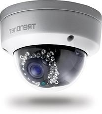TRENDnet Indoor/Outdoor Dome Style, PoE IP Camera with 3