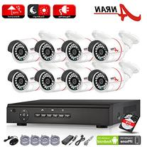 ANRAN 8 Channel 1080P POE NVR System Home Video Surveillance