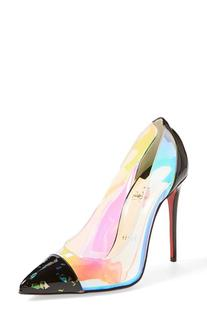 Women's Christian Louboutin 'Debout' Pointy Toe Pump