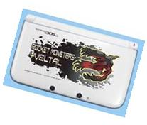 Pokemon 3DS XL YVELTAL Hard Cover Faceplate Dress Up Skin