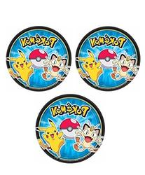 Pokemon Dessert Plates for 24 Guests by Party Supplies by