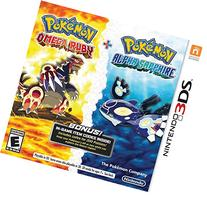 Pokemon Omega Ruby and Pokemon Alpha Sapphire Dual Pack -