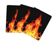 The Divine Card Company Poker Cards, Flames