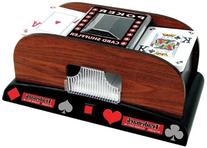 Trademark Trademark Poker Wooden Card Shuffler Card