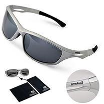 Duduma Polarized Sports Sunglasses Sports Wrap for Running Cycling Fishing Golf Tr90 Unbreakable Frame
