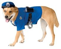 Rubie's Police Dog Pet Costume, Medium