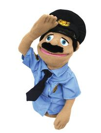 Melissa & Doug Police Officer Puppet With Detachable Wooden