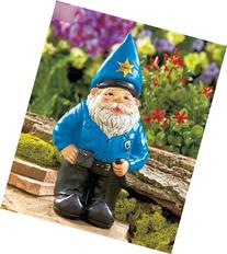 Outdoor Policeman Gnome Statue