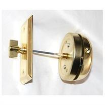 Polished Brass Door Mount Door Bell Non Electric