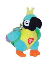 Polly The Insulting Parrot Keychain by Playmaker Toys
