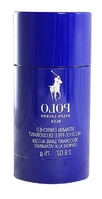 Polo Blue Ralph Lauren Deodorant Stick 2.6 Oz For Men