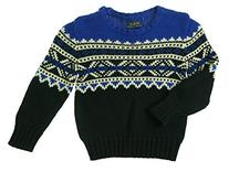 Ralph Lauren Polo Boys Fair Isle Nordic Sweater