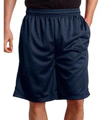 Adult Poly Mesh Shorts With Pockets