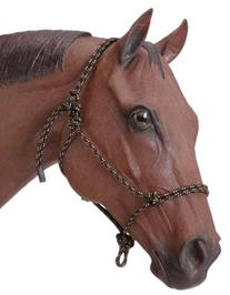 Tough 1 Poly Rope Tied Halter, Black