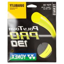 Yonex Poly Tour Pro 16 130 Tennis Racquet String Yellow