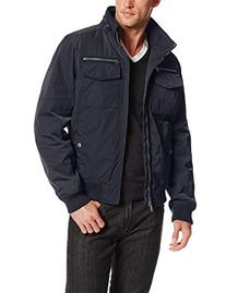 Tommy Hilfiger Men's Poly-Twill Performance Bomber Jacket,