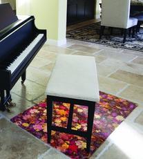 Floortex Colortex Polycarbonate Chair Mat Carpets/Floors, 36