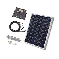 HQST 100 Watt 12 Volt Polycrystalline Solar Panel Kit with