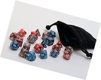 3 Pack of Best Selling Polyhedral Dice Sets - Includes