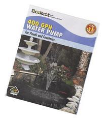 Beckett Pond & Fountain Pump