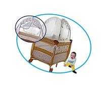 Travel Pop-up Safety Tent Fits Pack N Play & Mini Cribs