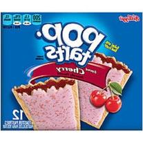 Kellogg's Pop Tarts Frosted Cherry Toaster Pastries 22 oz