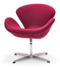Zuo Pori Arm Chair, Carnelian Red