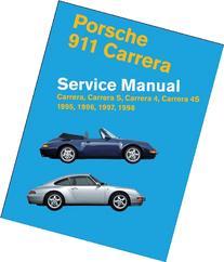 Porsche 911 Carrera  Service Manual: 1995, 1996, 1997, 1998
