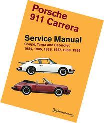 Porsche 911 Carrera Service Manual: 1984, 1985, 1986, 1987,