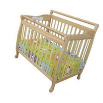 Portable Convertible Crib - Finish: Natural